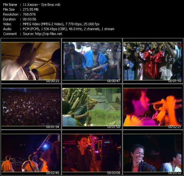 Kassav Music Video Clips Vob Collection