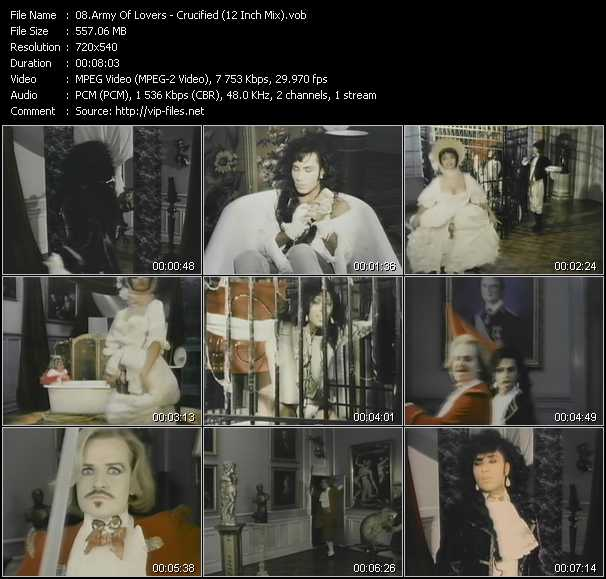 Перевод песен Army Of Lovers: перевод песни Crucified ...
