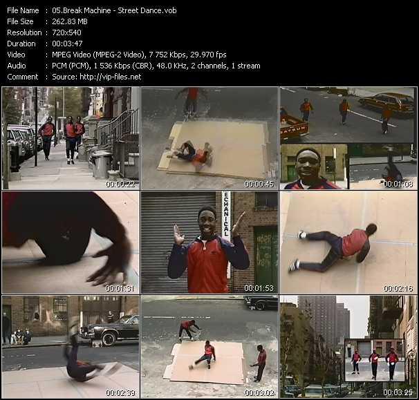 street dance break machine