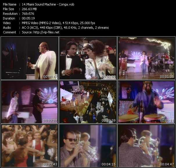 Gloria Estefan And Miami Sound Machine video clip Conga