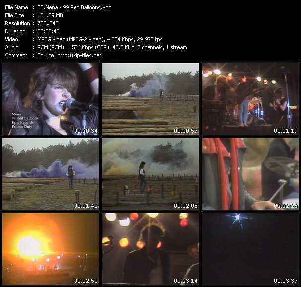 Goldfinger Video Clip 99 Red Balloons